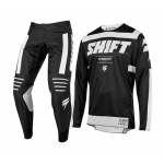 Shift Crosskleding 2019 3LACK Label Strike - Zwart / Wit