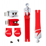 Shift WHIT3 Label Strap / Strap Pass / Buckle Kit - Rood