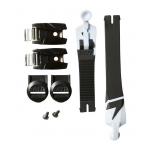 Shift WHIT3 Label Strap / Strap Pass / Buckle Kit - Zwart