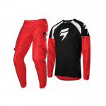 Shift Crosskleding 2020 WHIT3 Label Race 1 - Zwart / Rood