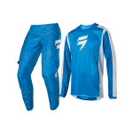 Shift Crosskleding 2020 WHIT3 Label Race 2 - Blauw / Wit