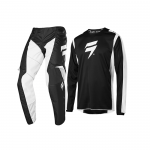 Shift Crosskleding 2020 WHIT3 Label Race 2 - Zwart / Wit