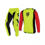 Shift Kinder Crosskleding 2020 WHIT3 Label Race 2 - Flo Geel