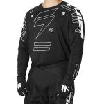 Shift Cross Shirt 2021 3LACK Label King - Zwart