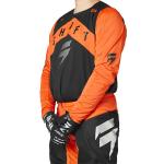 Shift Cross Shirt 2021 3LACK Label Veem - Blood Oranje