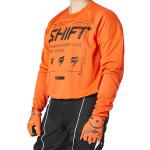 Shift Cross Shirt 2021 WHIT3 Label Bliss - Blood Oranje