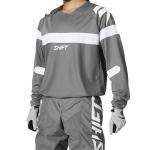 Shift Cross Shirt 2021 WHIT3 Label Void - Grijs / Wit