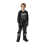 Shift Kinder Crosskleding 2021 WHIT3 Label Bliss - Zwart / Wit