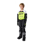 Shift Kinder Crosskleding 2021 WHIT3 Label Flame - Flo Geel