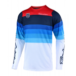 Troy Lee Designs Cross Shirt 2019 SE PRO LE Mirage A1 - Wit
