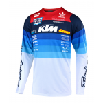 Troy Lee Designs Cross Shirt 2019 SE PRO LE Mirage Team KTM A1 - Wit