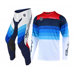 Troy Lee Designs Crosskleding 2019 SE PRO LE Mirage A1 - Wit