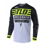 Troy Lee Designs Cross Shirt 2018.2 GP AIR Bolt - Flo Geel