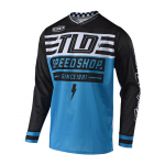 Troy Lee Designs Cross Shirt 2018.2 GP AIR Bolt - Ocean