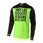 Troy Lee Designs Cross Shirt 2018.2 GP AIR Raceshop - Flo Geel