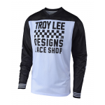 Troy Lee Designs Cross Shirt 2018.2 GP AIR Raceshop - Wit