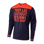 Troy Lee Designs Cross Shirt 2018.2 GP Raceshop - Navy