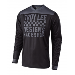 Troy Lee Designs Cross Shirt 2018.2 GP Raceshop - Zwart / Grijs