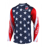 Troy Lee Designs Cross Shirt 2018.2 LE GP Star - Navy
