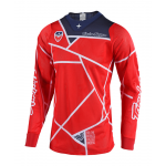 Troy Lee Designs Cross Shirt 2018.2 SE AIR Metric - Rood / Navy