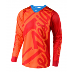 Troy Lee Designs Cross Shirt 2018.2 SE AIR Shadow - Honey / Rood