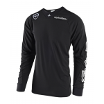 Troy Lee Designs Cross Shirt 2018.2 SE AIR Solo - Zwart
