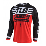 Troy Lee Designs Cross Shirt 2019 GP AIR Bolt - Rood