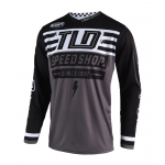 Troy Lee Designs Cross Shirt 2019 GP AIR Bolt - Zwart
