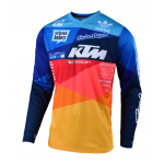 Troy Lee Designs Cross Shirt 2019 GP AIR Jet Team KTM - Navy / Oranje