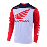 Troy Lee Designs Cross Shirt 2019 GP Honda - Wit / Navy