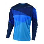 Troy Lee Designs Cross Shirt 2019 GP Jet - Blauw