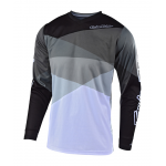 Troy Lee Designs Cross Shirt 2019 GP Jet - Grijs