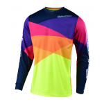 Troy Lee Designs Cross Shirt 2019 GP Jet - Rood / Geel