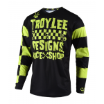 Troy Lee Designs Cross Shirt 2019 GP Raceshop 5000 - Lime