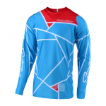 Troy Lee Designs Cross Shirt 2019 SE AIR Metric - Ocean