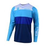 Troy Lee Designs Cross Shirt 2019 SE Beta - Blauw