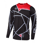 Troy Lee Designs Cross Shirt 2019 SE Metric - Zwart / Wit