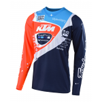 Troy Lee Designs Cross Shirt 2019 SE PRO Neptune KTM - Navy / Oranje
