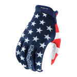 Troy Lee Designs Crosshandschoenen 2019 AIR Americana - Navy / Rood