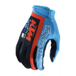 Troy Lee Designs Crosshandschoenen 2019 KTM TEAM AIR - Navy / Cyan