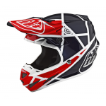 Troy Lee Designs Crosshelm 2018.2 SE4 Composite Metric - Rood / Navy