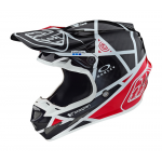 Troy Lee Designs Crosshelm 2019 SE4 Carbon Metric - Zwart / Rood