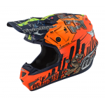 Troy Lee Designs Crosshelm 2019 SE4 Composite Baja - Oranje
