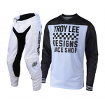 Troy Lee Designs Crosskleding 2018.2 GP AIR Raceshop - Wit