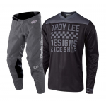 Troy Lee Designs Crosskleding 2018.2 GP Raceshop - Zwart / Grijs