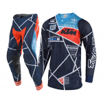 Troy Lee Designs Crosskleding 2018.2 SE AIR Metric - Navy / Oranje
