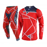 Troy Lee Designs Crosskleding 2018.2 SE AIR Metric - Rood / Navy