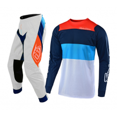Troy Lee Designs Crosskleding 2019 SE AIR Beta - Wit / Navy