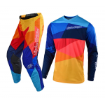 Troy Lee Designs Kinder Crosskleding 2019 GP AIR Jet - Navy / Oranje