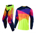Troy Lee Designs Kinder Crosskleding 2019 GP Jet - Rood / Geel